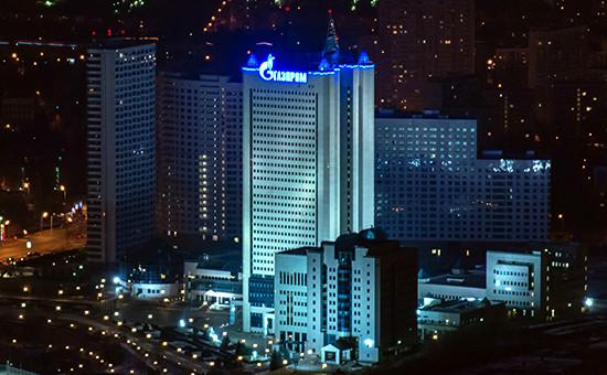 Здание центрального офиса «Газпрома»