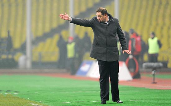 Новый главный тренер сборной России Леонид Слуцкий