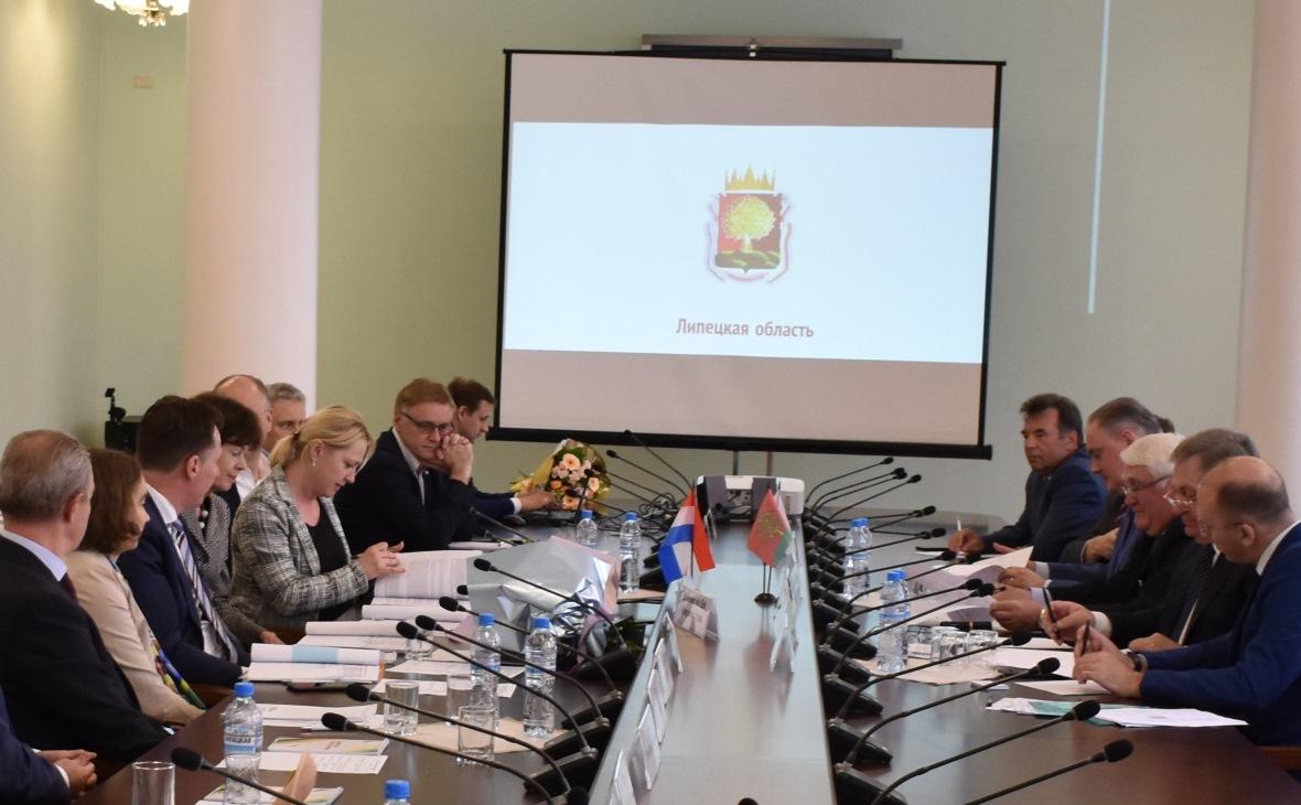 Фото: пресс-служба Управления инвестиций и международных связей Липецкой области