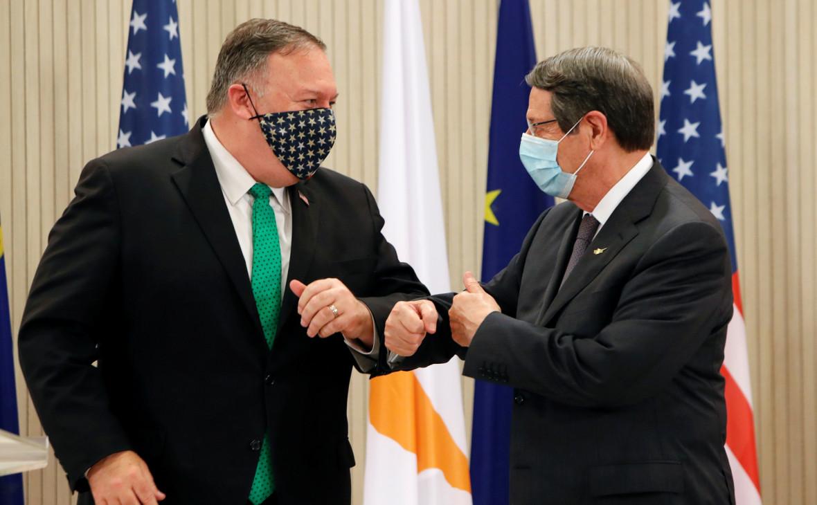США и Кипр договорились о создании на острове учебного центра