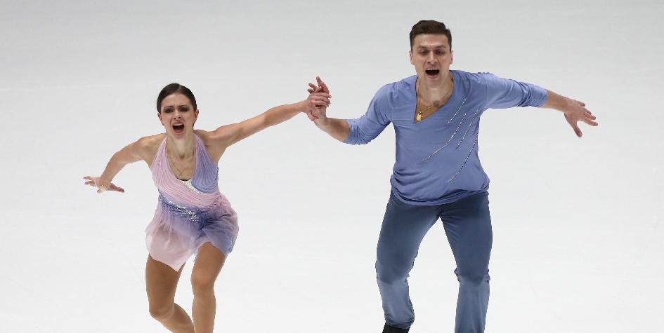 Канадские фигуристы увеличили отрыв от России в командном турнире