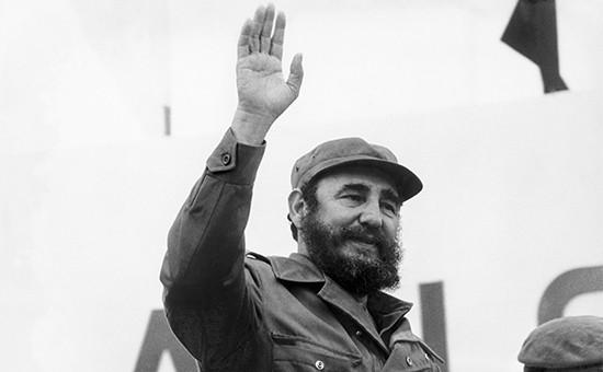 Лидер кубинской революции ФидельКастро