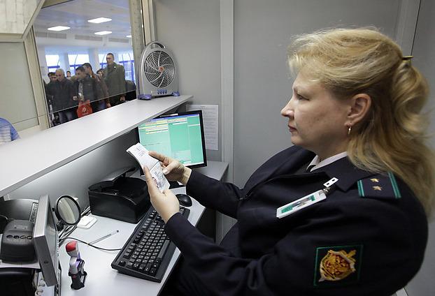 Паспортный контроль в Пулково