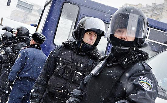Сотрудники милиции Украины, 2013 год