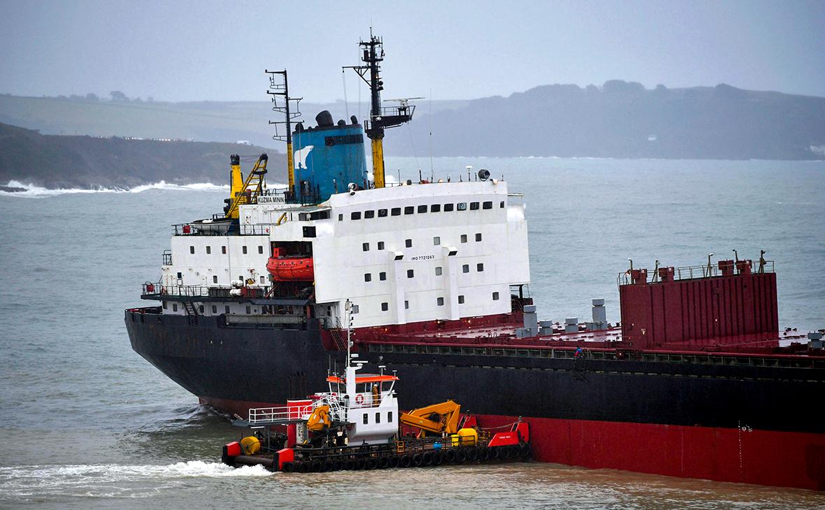 Грузовое судно «Кузьма Минин»