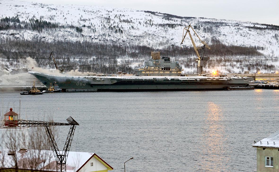 Тяжелый авианесущий крейсер «Адмирал Кузнецов»