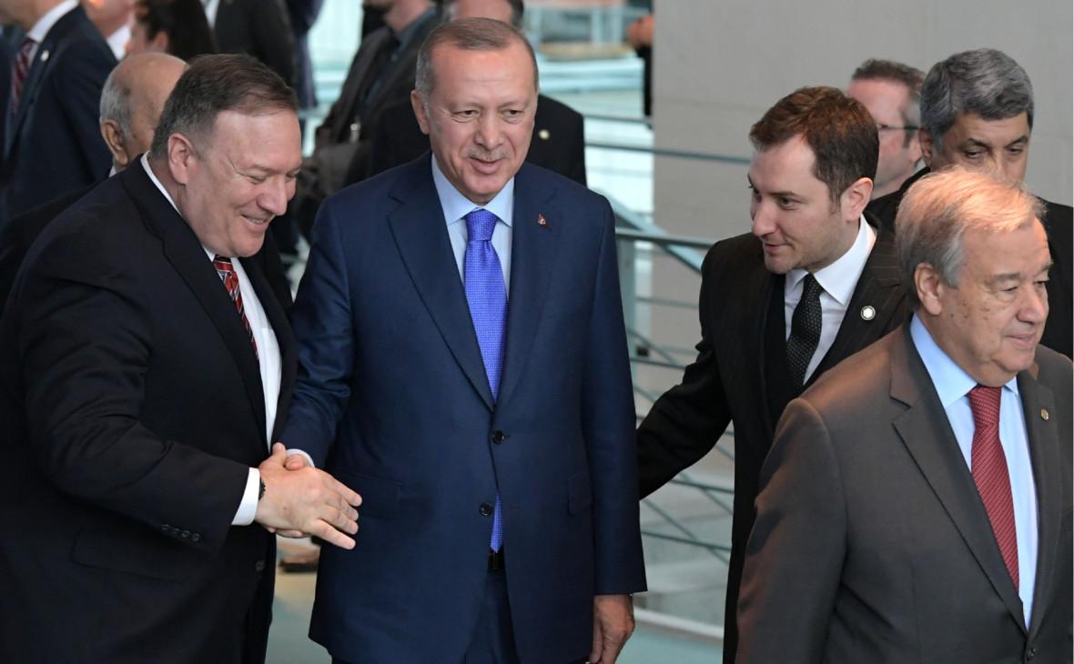 Эрдоган не смог встретиться с Помпео в Стамбуле из-за расписания