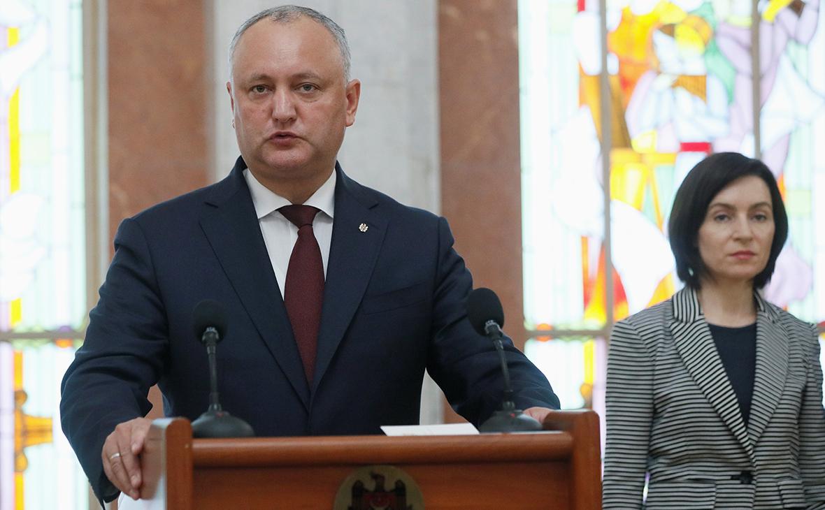 В Молдавии начались выборы президента
