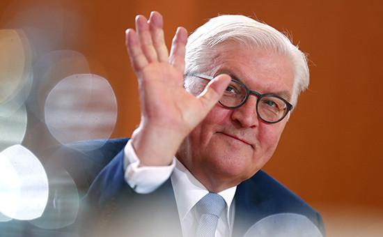 Экс-министриностранных дел Германии Франк-Вальтер Штайнмайер