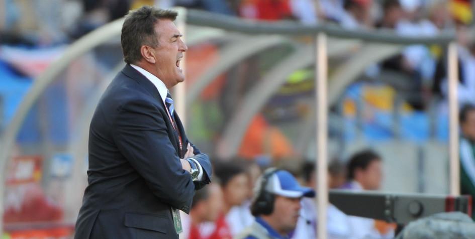 Радомир Антич на посту главного тренера сборной Сербии