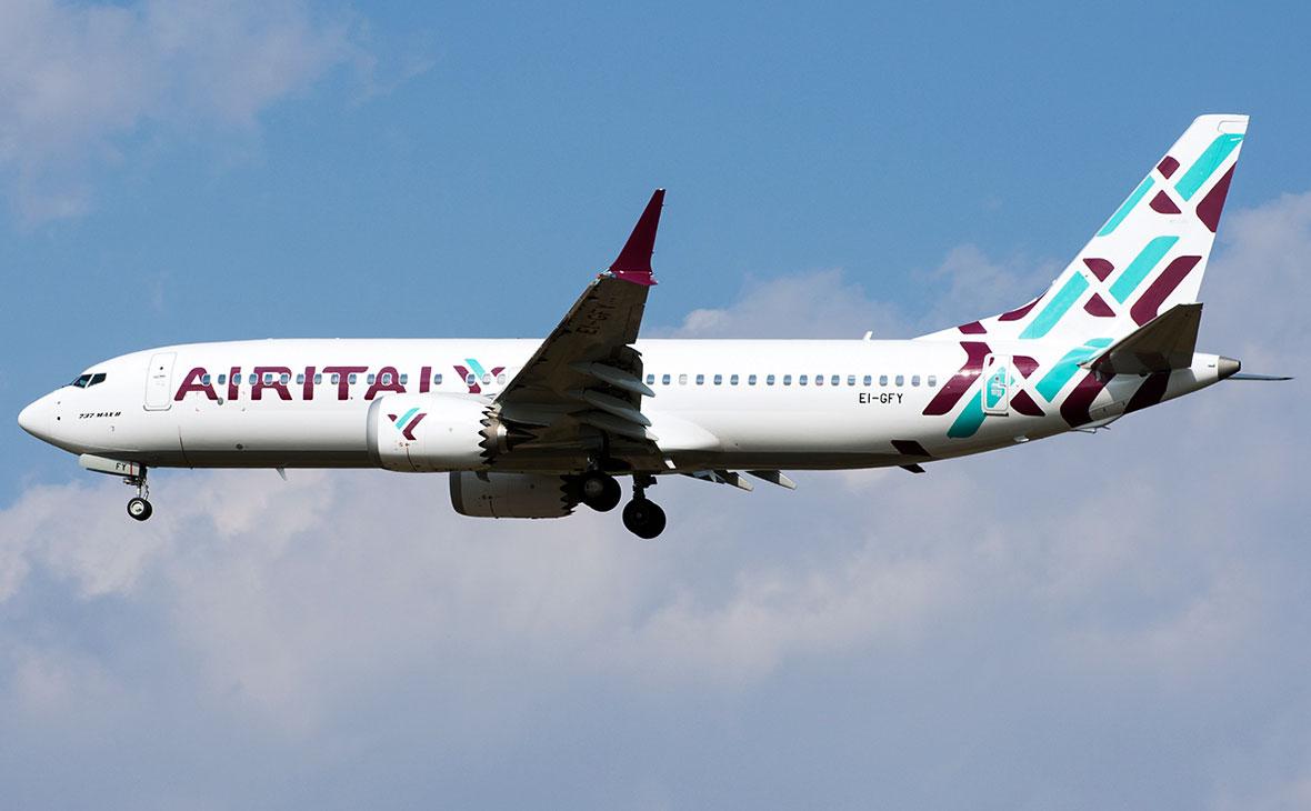 Вторая по величине авиакомпания в Италии сообщила о ликвидации