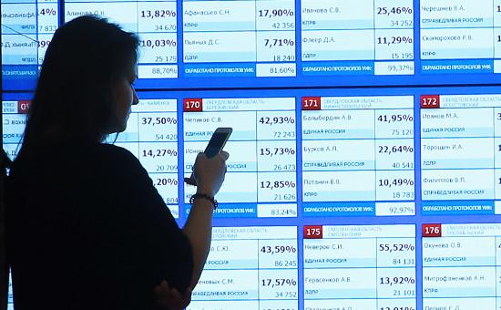 В информационном центре Центральной избирательной комиссии