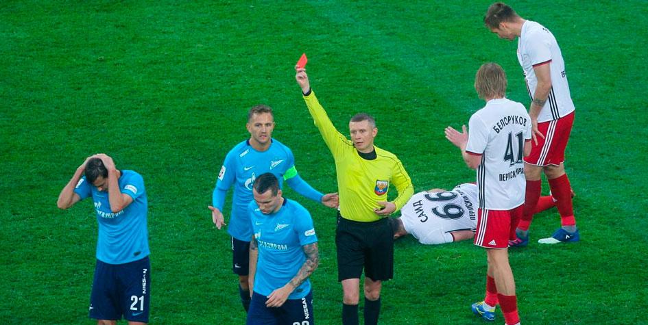 «Зенит» подал протест после матча против «Амкара»