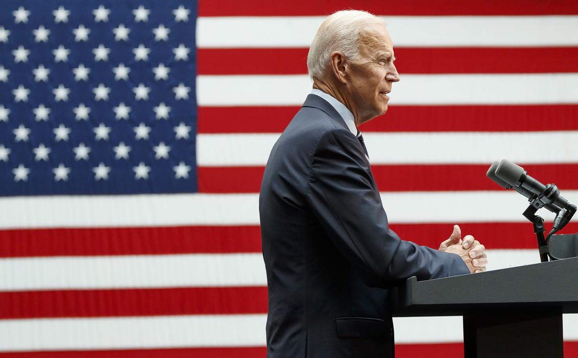 Бывший вице-президент США и кандидат в президенты на выборах 2020 годаДжо Байден