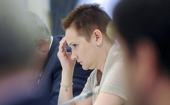 Глава правозащитной организации «Сопротивление» Ольга Костина