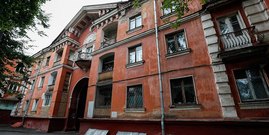 Жилой дом на улице Руставели, 3, корпус 3, построенный в 1952 году