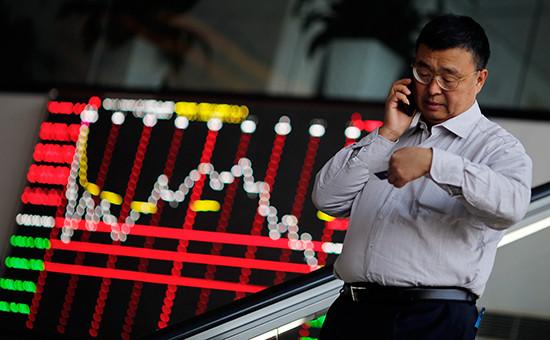 Шанхайская фондовая биржа, архивное фото