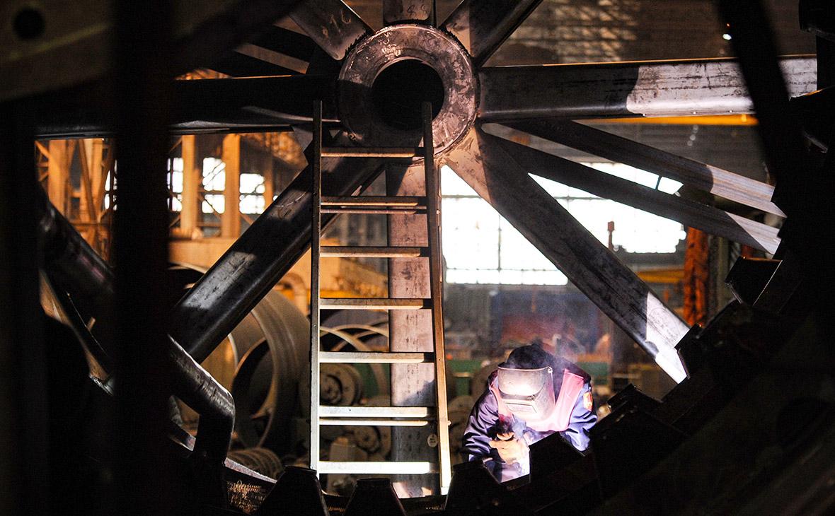 Сборка реактора высокого давления для газовой и нефтеперерабатывающей отрасли
