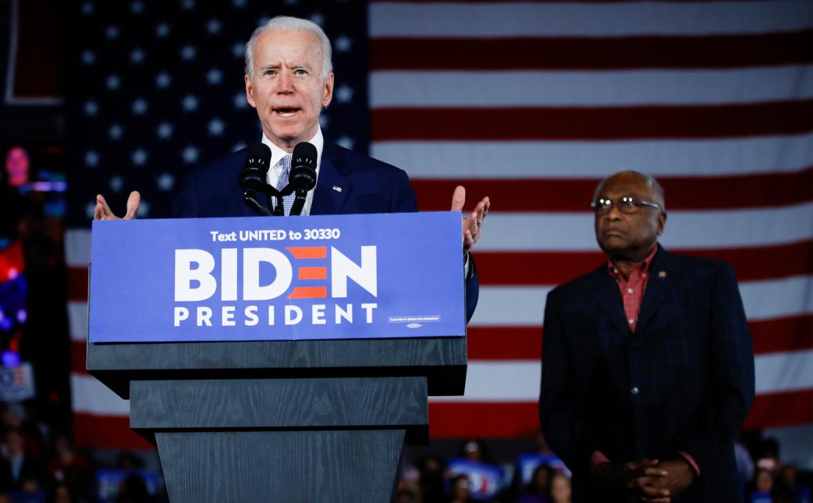 Байден одержал победу на праймериз демократов в Южной Каролине