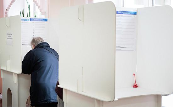 Во время выборов вГосдуму вМоскве. Сентябрь 2016 года