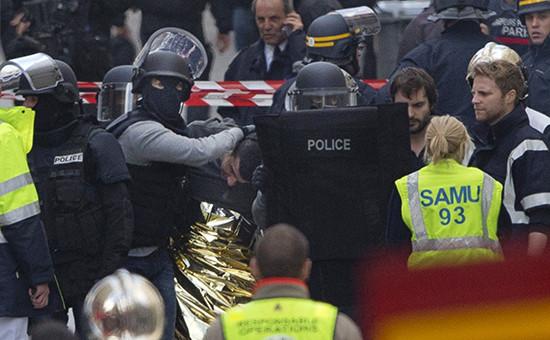 Полицейская операция впарижском пригороде Сен-Дени