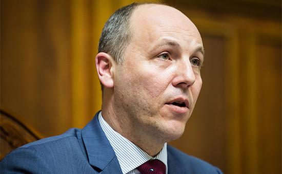 Новый председатель Верховной рады Андрей Парубий