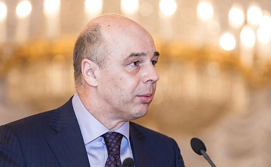 Глава Минфина АнтонСилуанов