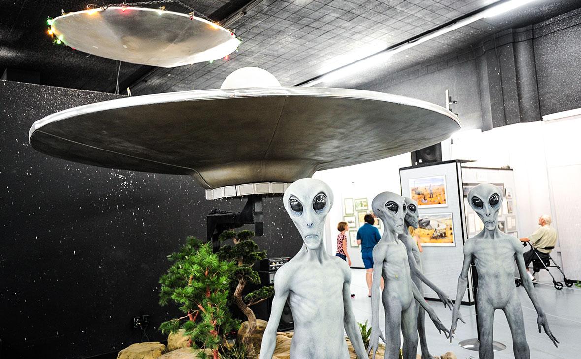 Музей НЛО вРозуэлле,штат Нью-Мексико, США