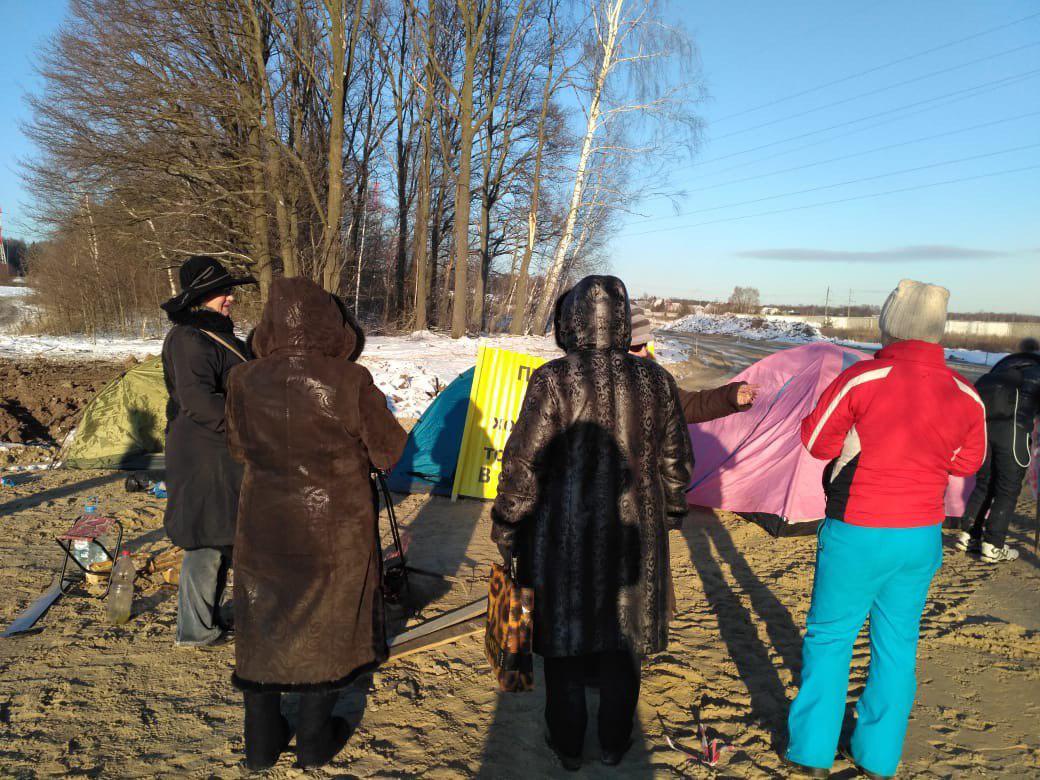 Фото: фото предоставлено активистами против строительства МСЗ