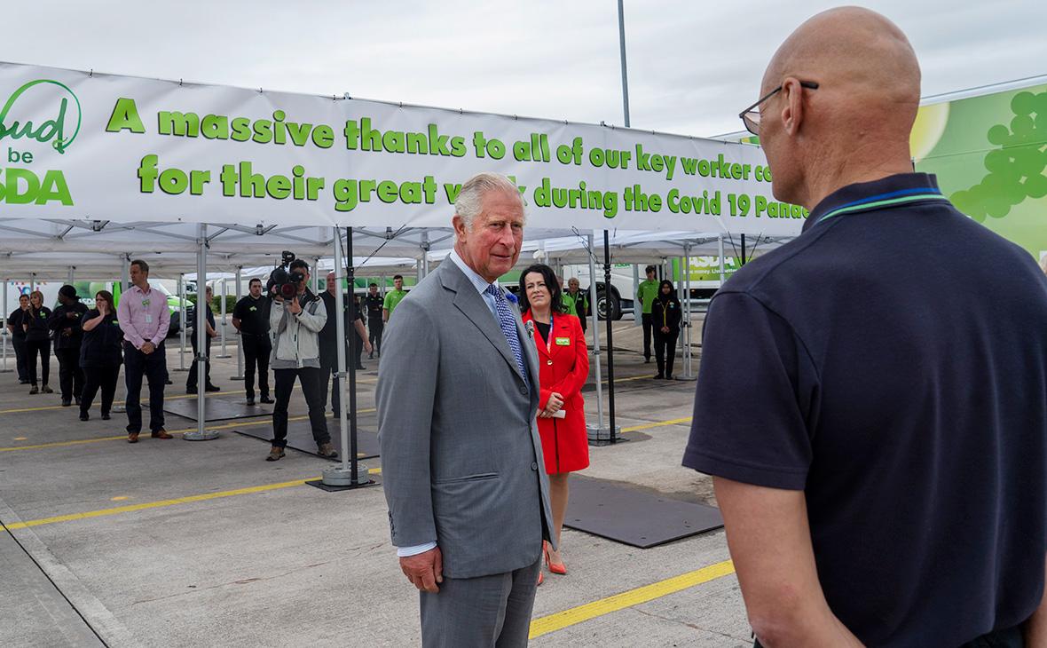 Визит принца Чарльза в Бристоль