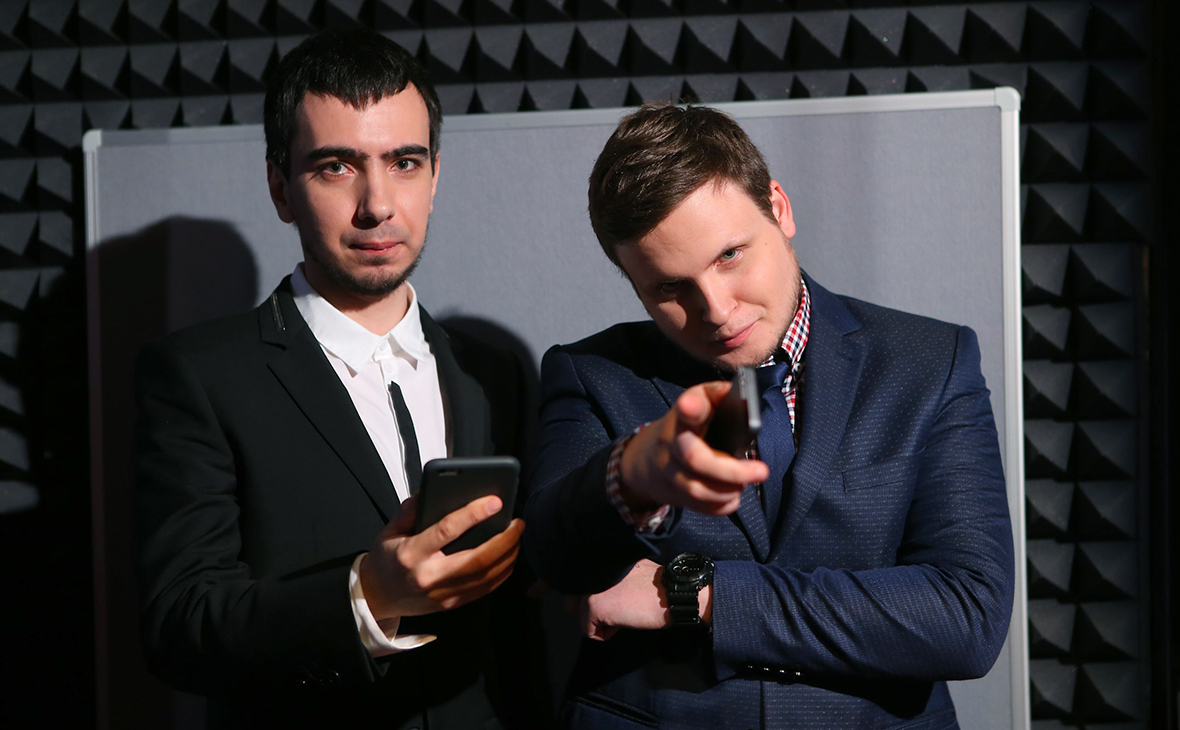 Владимир Кузнецови Алексей Столяров (слева направо)
