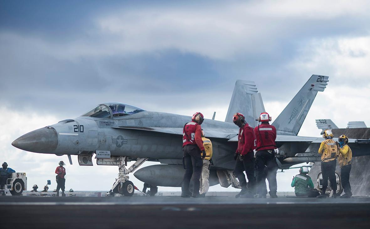 Истребитель F/A-18E Super Hornet