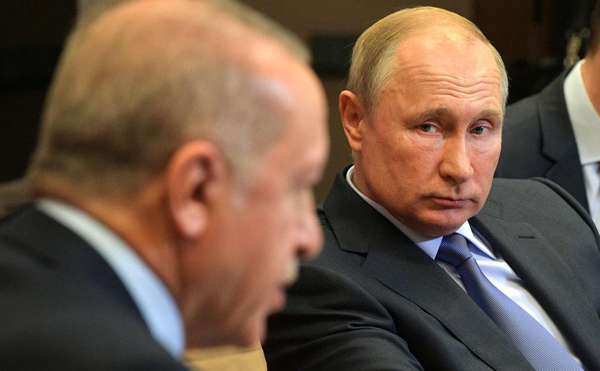 РеджепТайипЭрдоган иВладимир Путин