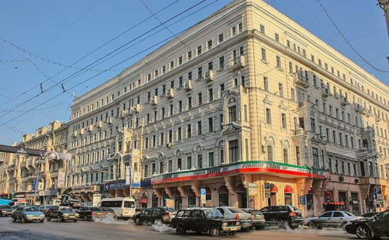 Гостиница «Люксъ» (бывшая «Центральная») наТверской улице вМоскве
