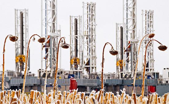Добыча сланцевой нефти в Северной Дакоте, США