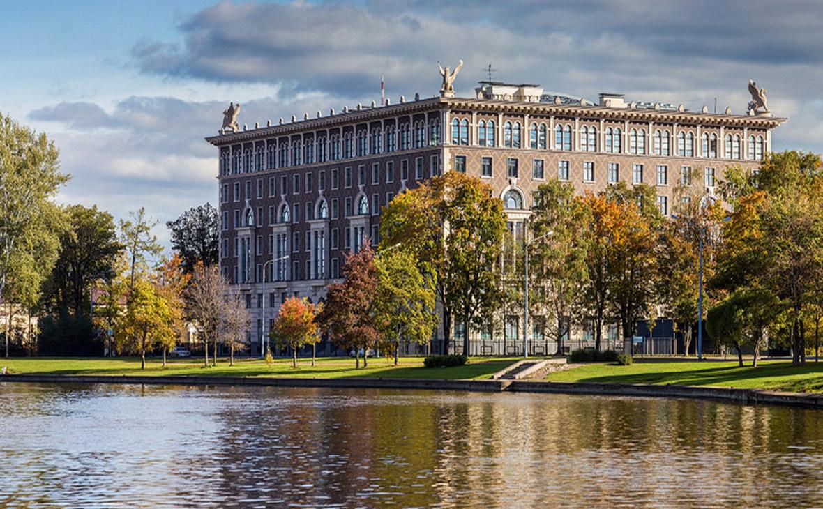 Жилой дом «Венеция», построенный ЛСР в Санкт-Петербурге