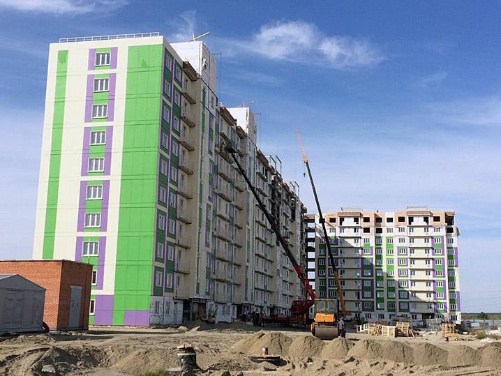 В Минстрое рассказали о судьбе недостроенных домов в «Новомарусино»