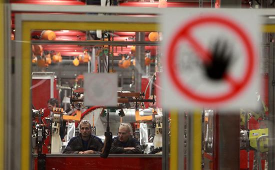Завод компании Volkswagen Group Rus в Калуге