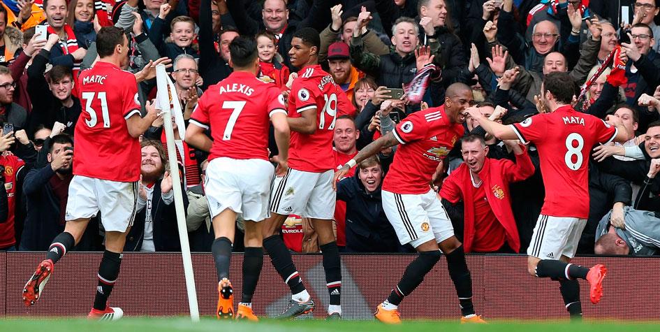 «Манчестер Юнайтед» выиграл у «Ливерпуля» в чемпионате Англии