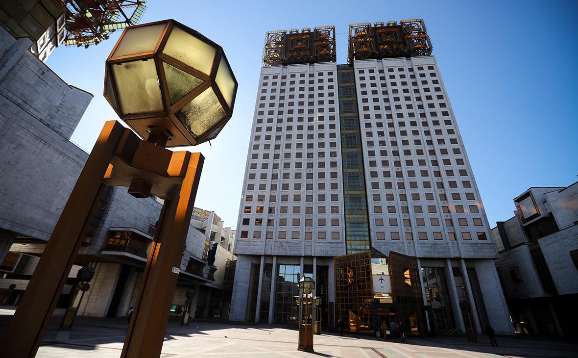 Здание РАН в Москве