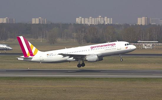 Пассажирский самолет Airbus A320 компании Germanwings
