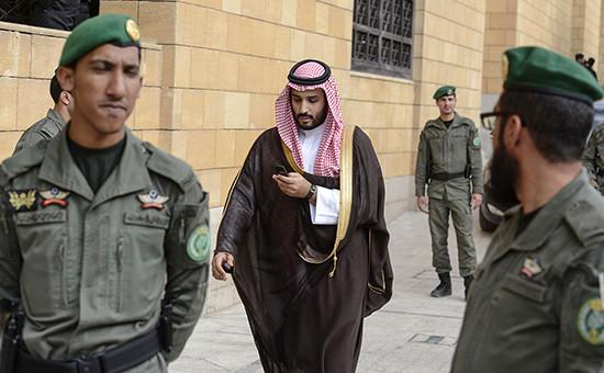 Министр обороны Саудовской Аравии шейх Мухаммед бен Сальман бен Абдель Азизаль-Сауд