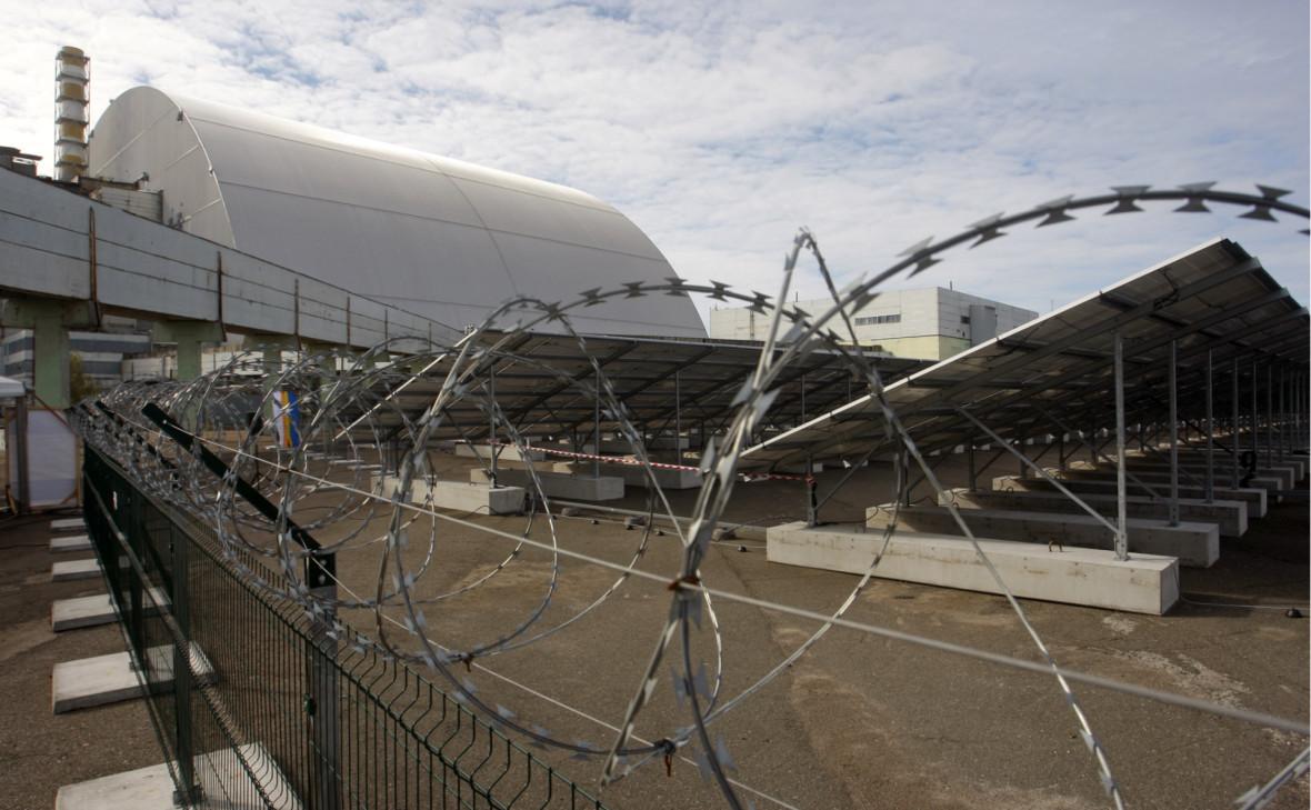 В Чернобыльской зоне заработала первая солнечная электростанция
