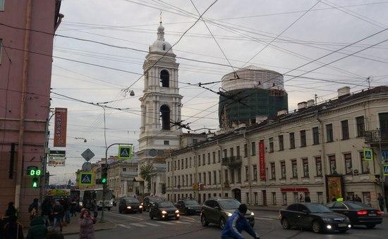 Храм в честь Святой Великомученицы Екатерины на Кадетской линии Васильевского острова