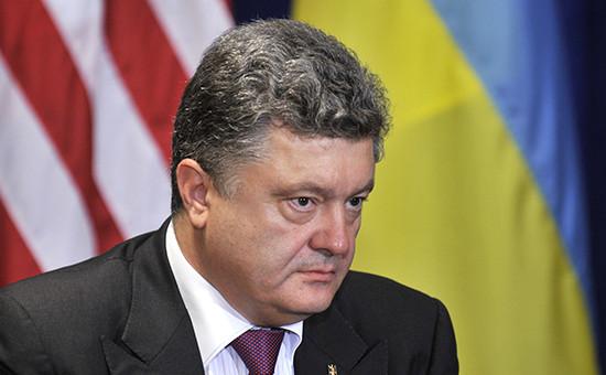 Президент Украины Петр Порошенко. Фото 2014 года