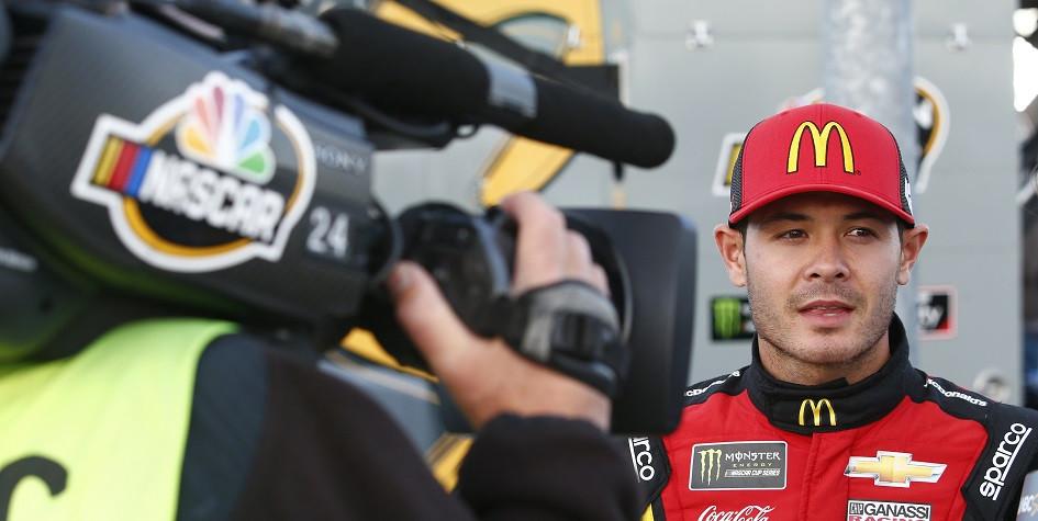 Пилот NASCAR Кайл Ларсон
