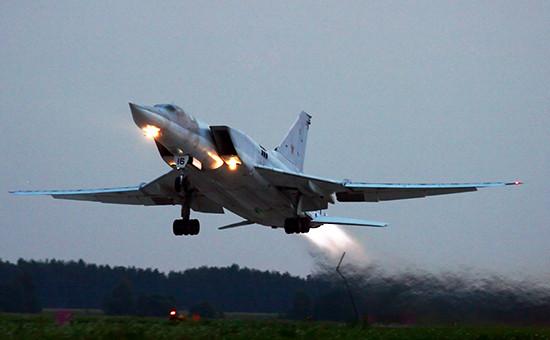 Дальний бомбардировщик Ту-22М3, август 2007 года