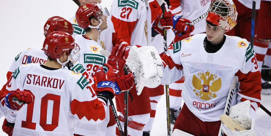 Россия - Канада. МЧМ по хоккею — 2019. Видео