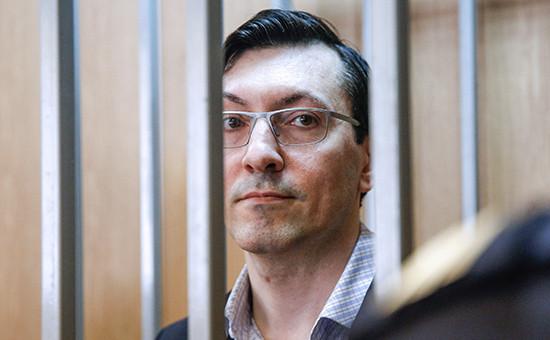Один излидеров запрещенного вРоссии националистического движения «Русские» Александр Поткин (Белов)