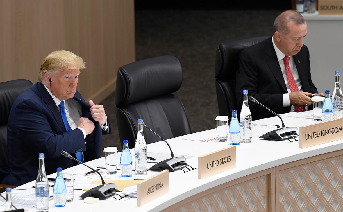 Дональд Трамп и РеджепЭрдоган